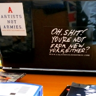 Artists not Armies