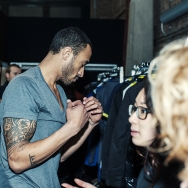 Backstage-at-Cold-Method-AW-2013-Model-is-changing-clothes