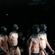 Club BRILLIANT Fool's GOLD by Dennis Diem ft. Italia Independent Half naked male models