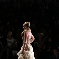 Club BRILLIANT Fool's GOLD by Dennis Diem ft. Italia Independent Show finale dress