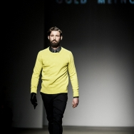 Cold Method A/W 2013 - Black ensemble with a splash of neon