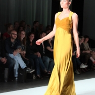 FRANK Model in yellow gown