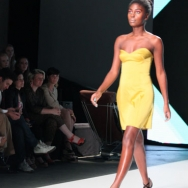 FRANK Model with yellow dress