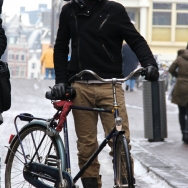 Fashion Population_Amsterdam Street Style_Bicycles_Cap_Boots