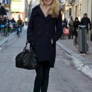Fashion Population_Amsterdam Street Style_Navy Coat_Sunglasses_Cap