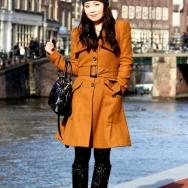 Fashion Population_Amsterdam Street Style_Mustard Coat_Cap