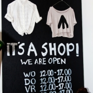 It's a shop