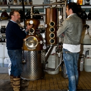 Wynand Fockink; the oldest distillery / tasting room (since 1679)