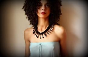 Glass jewellery by Flamework