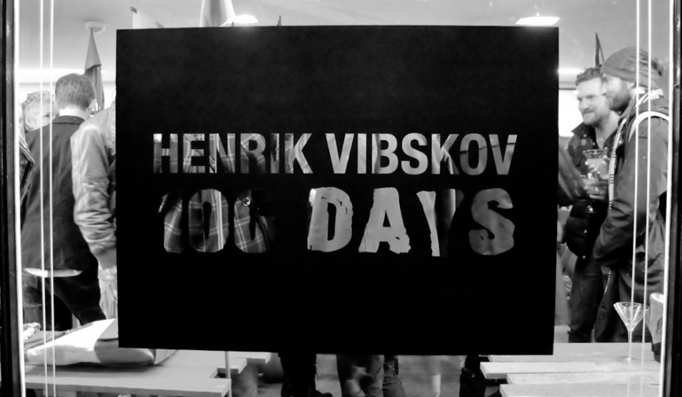 Henrik Vibskov's travelling pop-up store visits Amsterdam