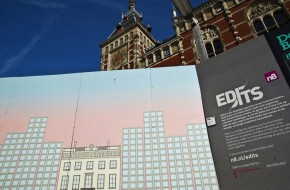 Join the last call for Edits to have your art displayed on Amsterdam Central Station