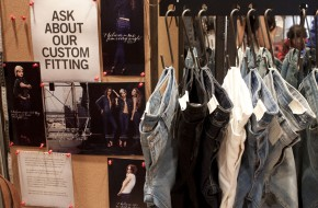 Finding the perfect jeans at Levi's Curve ID