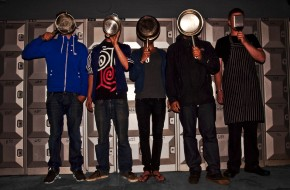 Eating 'guerilla style' with Nuit Blanche walk-through