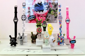 Art meets punctuality with Kidrobot for Swatch