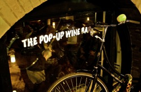 Stop by Amsterdam's first Pop-up Wine Bar