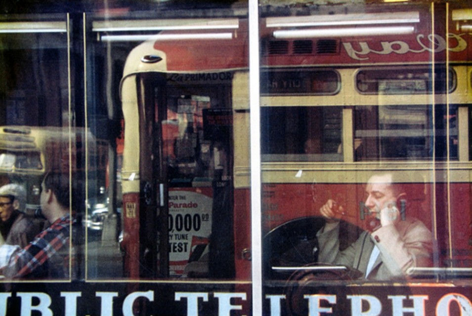 Make a last minute culture stop for Saul Leiter in the Jewish Historical Museum
