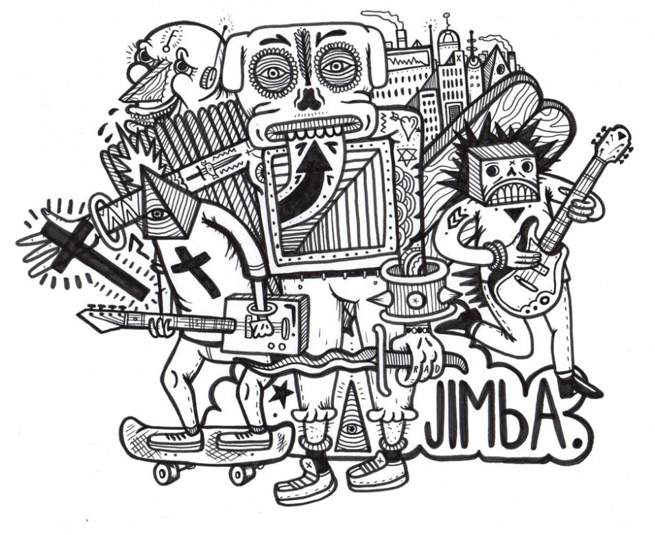 Honest art: BAM! Jimba in your face