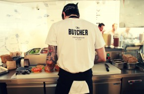 Bloody delicious burgers at The Butcher