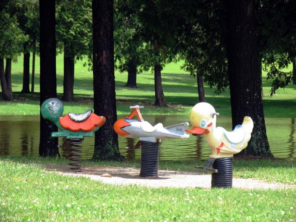 Return to your childhood at Buitenspelen