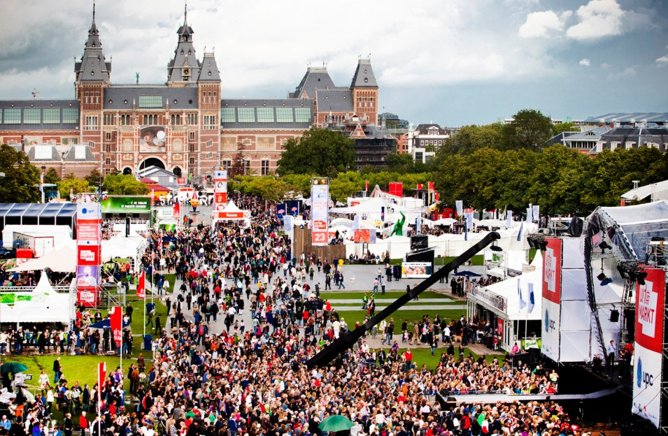 Get a head start on next season's cultural programme at the Uitmarkt