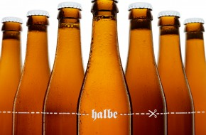 Drink Halbe beer and support the cultural arts