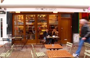 Best coffee in town at De Koffie Salon