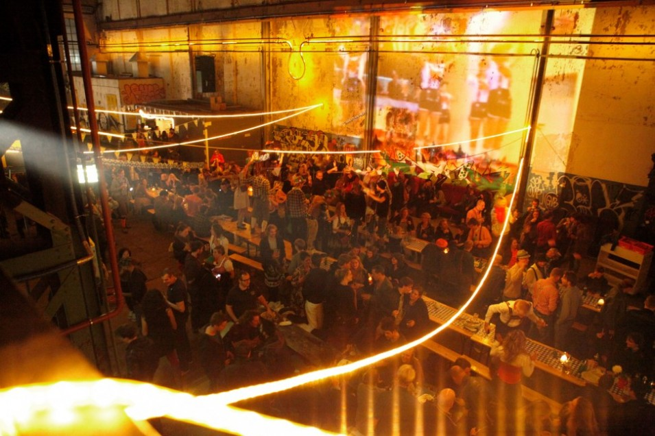 Start 2013 dancing like a pirate with your mateys in Roest's warehouse