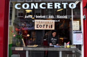Concerto combines coffee and more