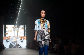 A striking architectural crossover in fashion by Marga Weimans