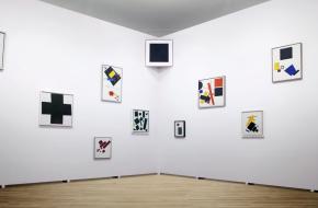 Kazimir Malevich, a million dollar student