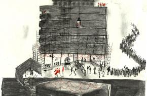 Merel's Mind: Bouwplaats Festival