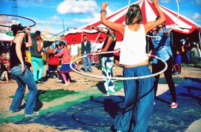 Rhubarb vodka, grease paint and trundling hoops at Magneet Festival 2014