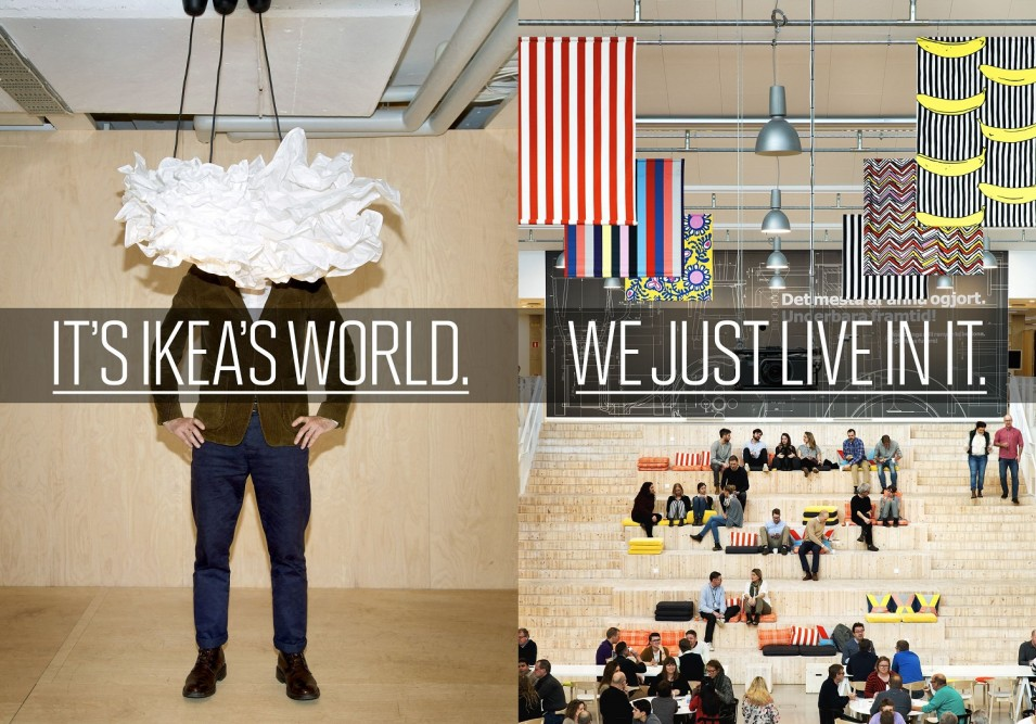 How Ikea pops up everywhere
