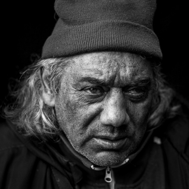 Choose Life by Luuk Walschot gives homeless people a face