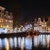 A biomimic view on Amsterdam at the Light Festival