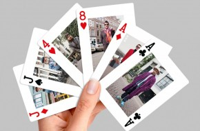 Humans of Amsterdam in a deck of cards by Holland Casino