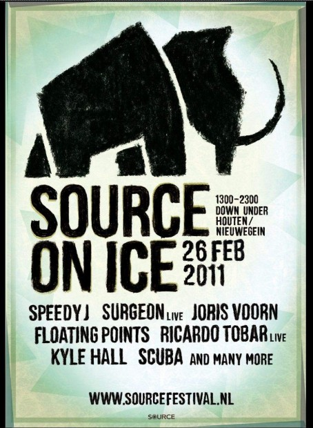 Source on Ice poster