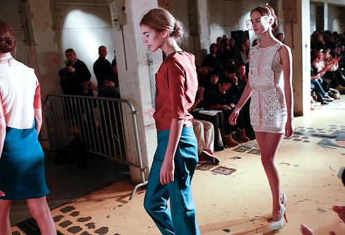 Ellis Biemans show during Downtown Fashion Week Amsterdam