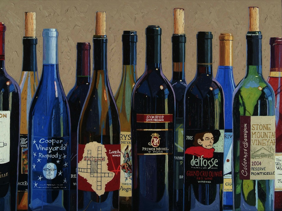 Go 'wine tasting for dummies' at Blue and turn your hobby into a form of art