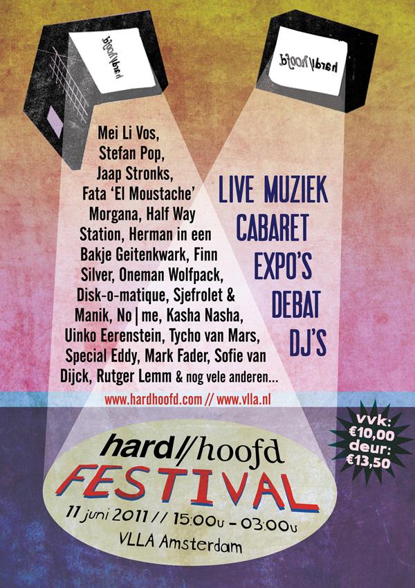 hard//hoofd festival flyer
