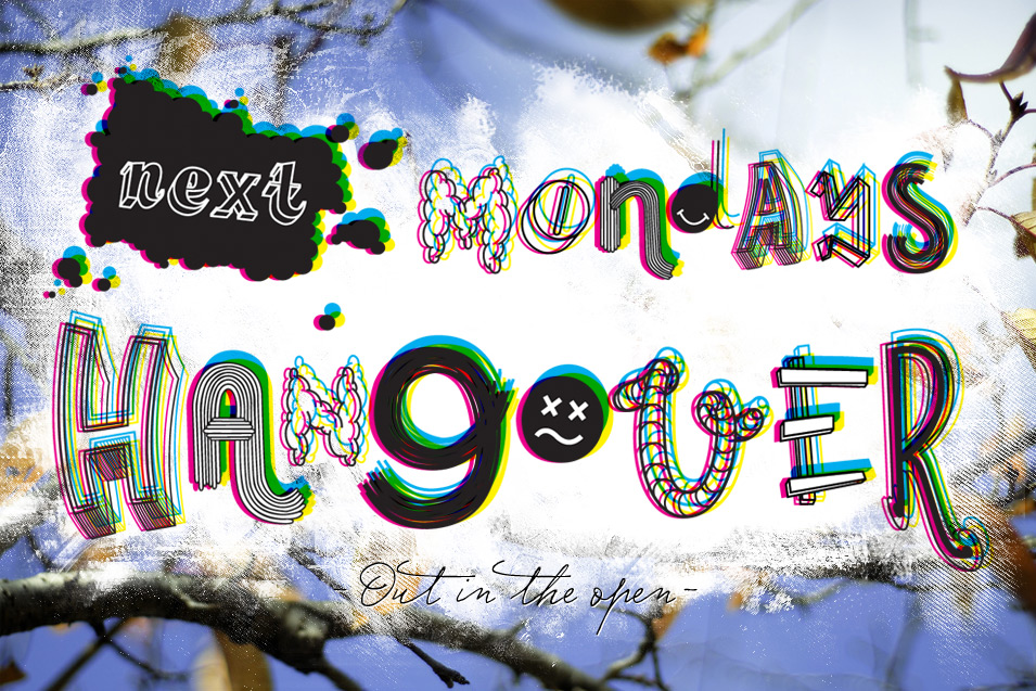 New names for our art-music-fashion festival Next Monday's Hangover!