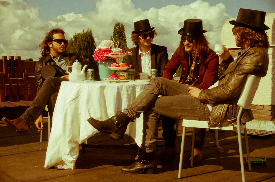 Local Rockstars: King Jack at a mad tea party