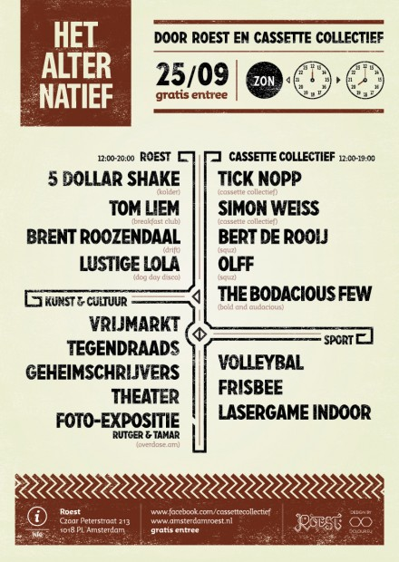 het alternatief line up