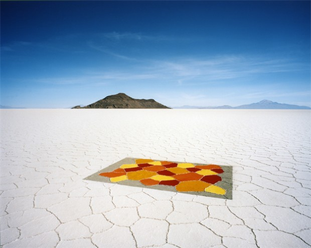 Carpet Bolivia 2010 Courtesy Vous Etes Ici, Amsterdam Courtesy Michael Hoppen, London / Londen © Scarlett Hooft Graafland