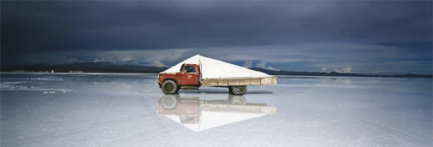 White Pyramid Bolivia 2011 Courtesy Vous Etes Ici, Amsterdam Courtesy Michael Hoppen, London / Londen © Scarlett Hooft Graafland
