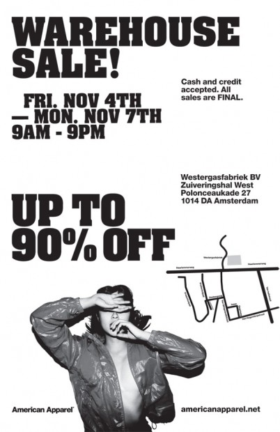 AA Warehouse Sale