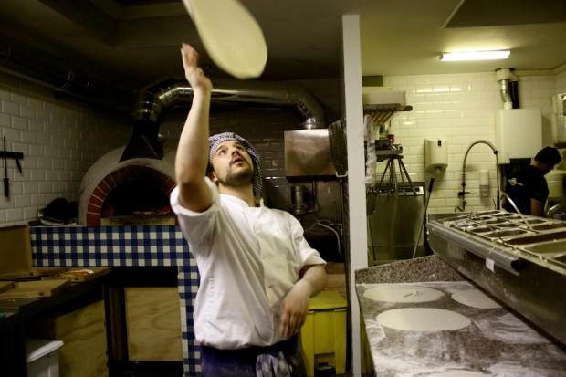 de pizza bakkers chef