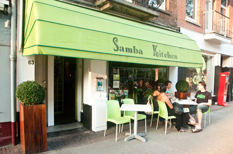 Brazillian soul at Samba Kitchen