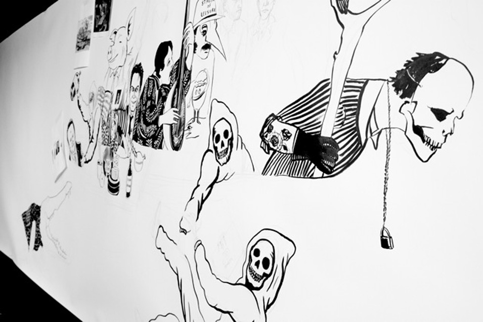 A true art collaboration by Bare Bones x Sid Lee