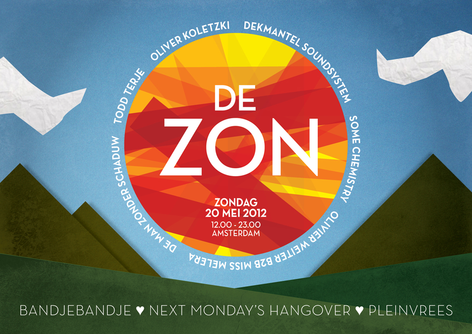 De Zon, an event for sun worshippers by Next Monday's Hangover and friends